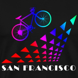 Bicycle Bike San Francisco - Men's Premium T-Shirt