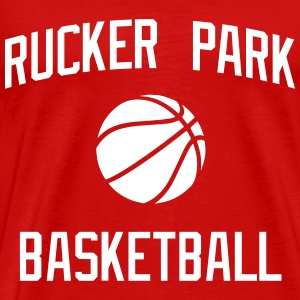 Rucker Park Basketball T-Shirts - Men's Premium T-Shirt