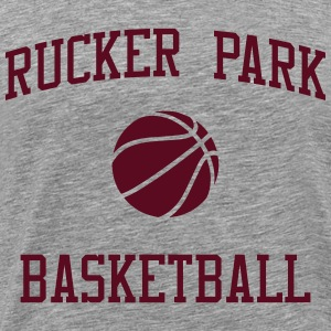 Rucker Park Basketball 2 T-Shirts - Men's Premium T-Shirt
