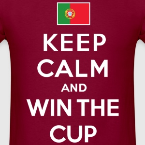 Portugal - Keep calm & win - Men's T-Shirt