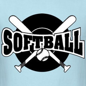 softball - Men's T-Shirt