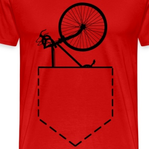 Bicycle In Pocket - Men's Premium T-Shirt
