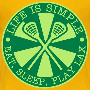 Eat, Sleep, Play LAX Kids' Shirts - Kids' Premium T-Shirt
