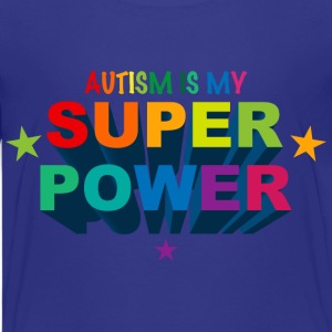 Autism Superpower T-Shirt - Kids' Premium T-Shirt
