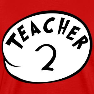 Teacher 2 T-Shirts - Men's Premium T-Shirt