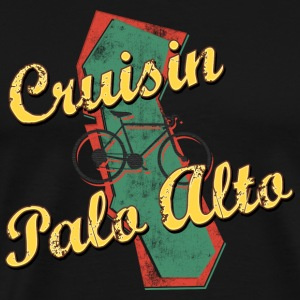 Bicycle Bike Palo Alto California Cruising - Men's Premium T-Shirt