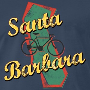 Bicycle Bike Santa Barbara California Vintage - Men's Premium T-Shirt