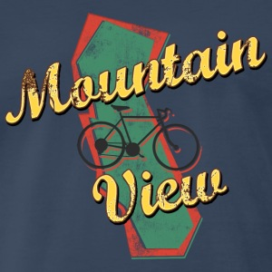 Bicycle Bike Mountain View California Vintage - Men's Premium T-Shirt