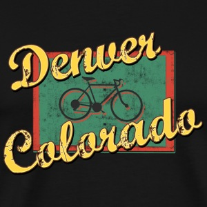 Bicycle Bike Denver Colorado Vintage - Men's Premium T-Shirt