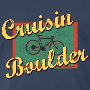 Bicycle Bike Boulder Colorado Vintage - Men's Premium T-Shirt