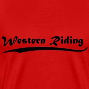 Western Riding T-Shirts - Men's Premium T-Shirt