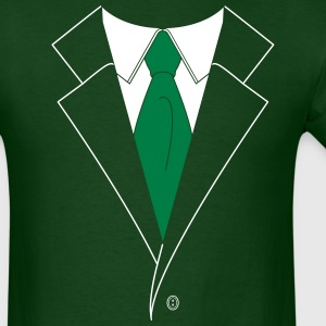 St. Paddy's Day Suit and Tie (2 Color) T-Shirts - Men's T-Shirt