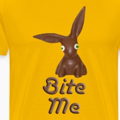 Bite Me Easter Chocolate Bunny Shirt