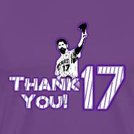 Design ~ Thank You 17 - Mens - T-shirt (Purple)