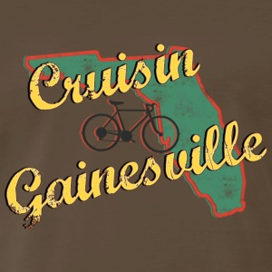 Bicycle Bike Gainesville Florida Vintage - Men's Premium T-Shirt