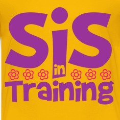 sister_in_training Kids' Shirts
