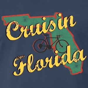 Bicycle Bike Florida Vintage - Men's Premium T-Shirt