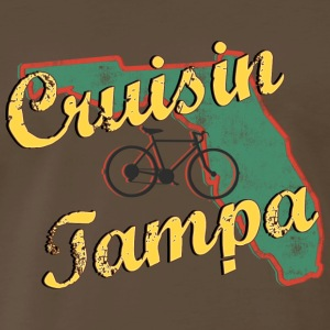 Bicycle Bike Tampa Florida Vintage - Men's Premium T-Shirt