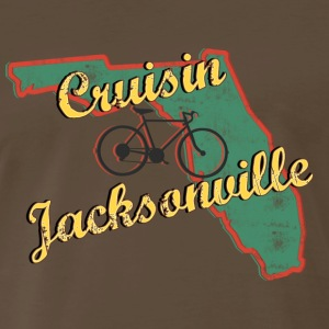 Bicycle Bike Jacksonville Florida Vintage - Men's Premium T-Shirt