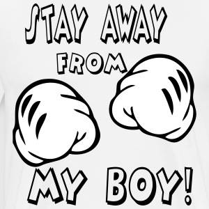 stay away from my girl T-Shirts - Men's Premium T-Shirt