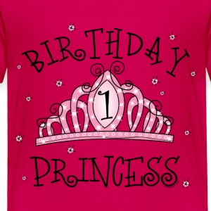 Tiara 1st Birthday Princess Baby & Toddler Shirts - Toddler Premium T-Shirt