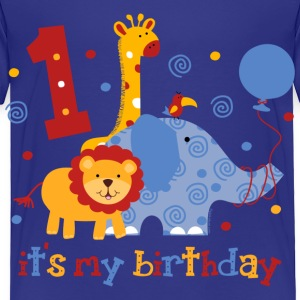 Safari 1st Birthday Baby & Toddler Shirts - Toddler Premium T-Shirt