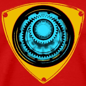 Mazda Rotary - Iron Man - Men's Premium T-Shirt