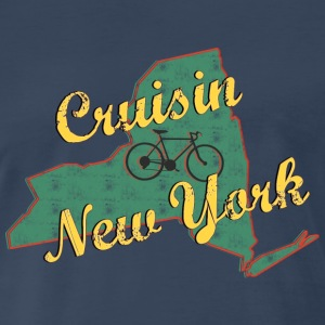 Bicycle Bike New York Vintage - Men's Premium T-Shirt
