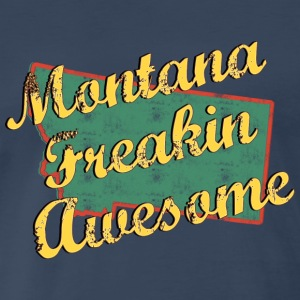 Montana Freaking Awesome - Men's Premium T-Shirt