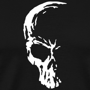 skull death alien  T-Shirts - Men's Premium T-Shirt