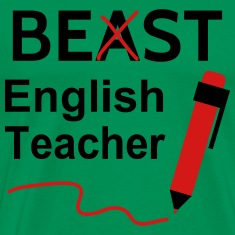 Funny Beast or Best English Teacher T-Shirts