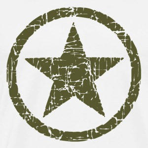 Vintage Army Star T-Shirts - Men's Premium T-Shirt