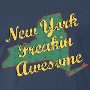 New York Freaking Awesome - Men's Premium T-Shirt