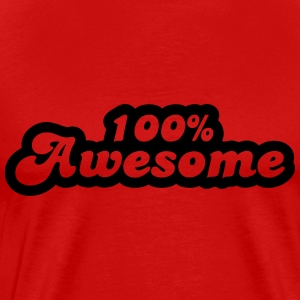 100 % awesome T-Shirts - Men's Premium T-Shirt