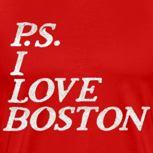 P.S. I Love Boston Apparel  T-Shirts - Men's Premium T-Shirt