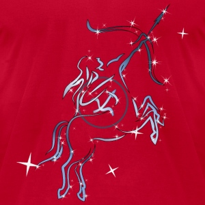 Sagittarius zodiac sign - Men's T-Shirt by American Apparel