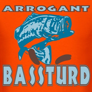 ArrogantBassTurd T-Shirts - Men's T-Shirt