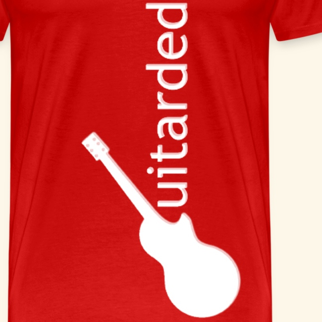 'Guitarded' shirt with original 'Guitarded' design