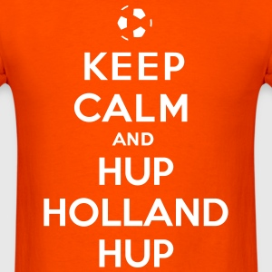 Keep calm and Hup Holland Hup - Men's T-Shirt