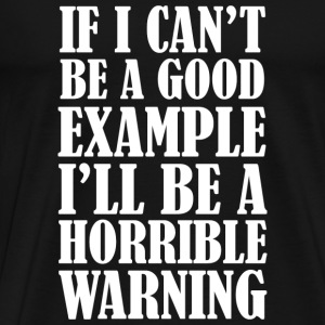 Horrible Warning - Men's Premium T-Shirt
