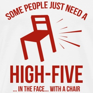 Some People Deserve A High-Five - Men's Premium T-Shirt