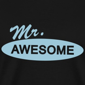 mr. awesome T-Shirts - Men's Premium T-Shirt