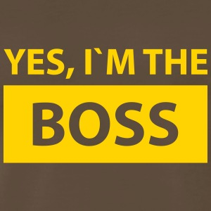 yes i´m the boss T-Shirts - Men's Premium T-Shirt