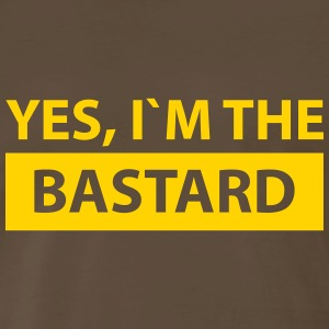 yes i´m the bastard T-Shirts - Men's Premium T-Shirt