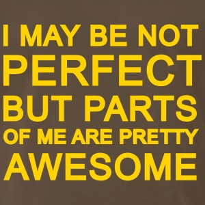 no perfect but awesome parts T-Shirts - Men's Premium T-Shirt
