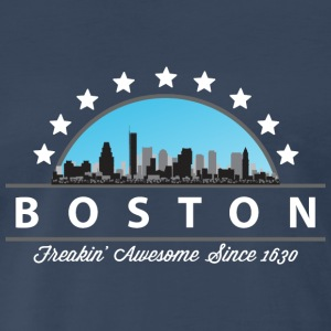 Boston Massachusetts Freaking Awesome Since 1630 - Men's Premium T-Shirt