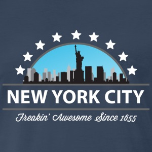 New York City New York Freaking Awesome Since 1655 - Men's Premium T-Shirt