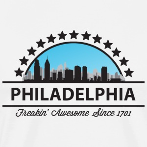 Philadelphia Freaking Awesome Since 1701 - Men's Premium T-Shirt