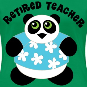 Retired Teacher Women's T-Shirts - Women's Premium T-Shirt