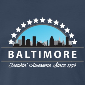Baltimore Maryland Freaking Awesome Since 1796 - Men's Premium T-Shirt